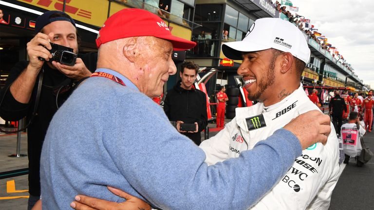 Lewis Hamilton issues Niki Lauda tribute as F1 pays respects