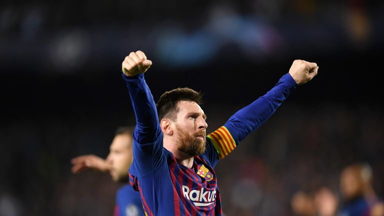 Lionel Messi also makes the shortlist for his audacious hat-trick goal in the 4-1 win over Real Betis