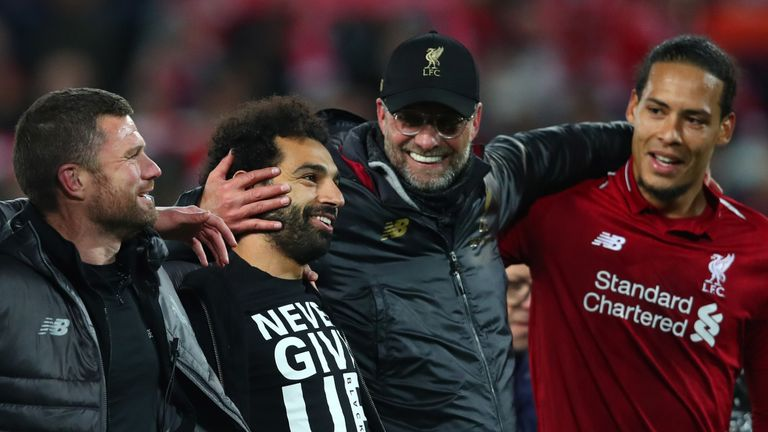 a9bd5799f8b18 Liverpool reach Champions League final  Twitter reacts to Reds ...