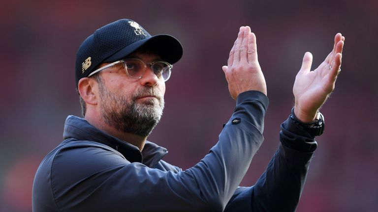 Jurgen Klopp's team could end the season with a trophy