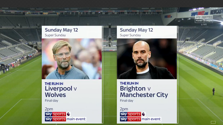 Liverpool vs Wolves and Brighton vs Man City are both live on Sky Sports