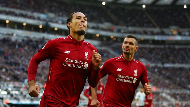 Virgil van Dijk has capped an impressive season for Liverpool by claiming the Premier League Player of the Season award.