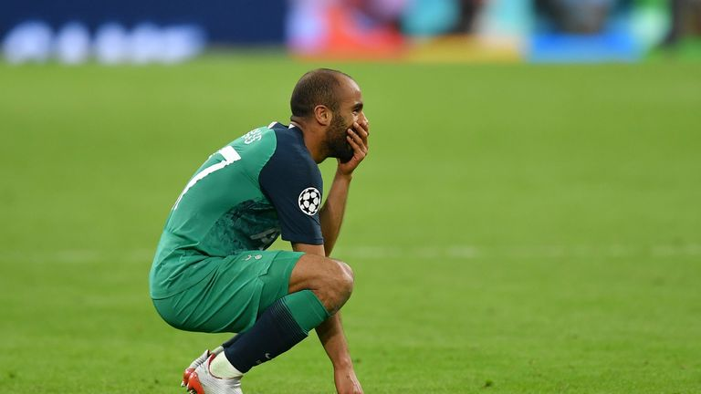 Lucas Moura reflects on his hat-trick that saw Tottenham beat Ajax in the Champions League.
