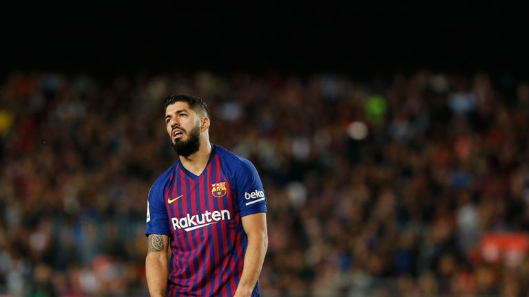 Juventus  will hold talks with Barcelona over the sale of Luis Suarez