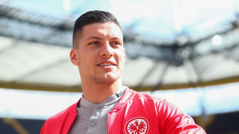 Luka Jovic is set to join Real Madrid