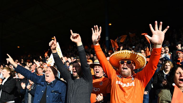 Sing when you're winning: Luton fans could be in for a fun Friday night