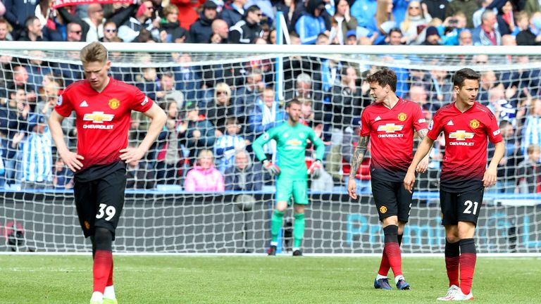 Manchester United have conceded 52 goals after 37 league games