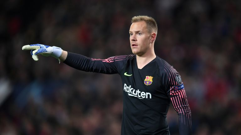 Marc-Andre ter Stegen is out of the Copa del Rey final