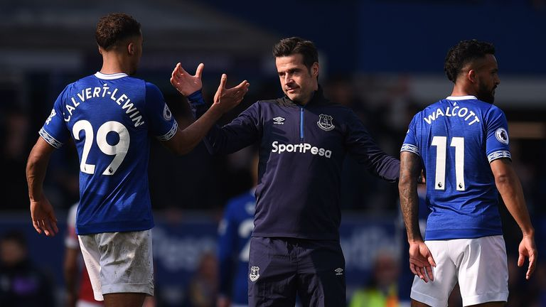 Marco Silva guided Everton to an eighth-placed finish
