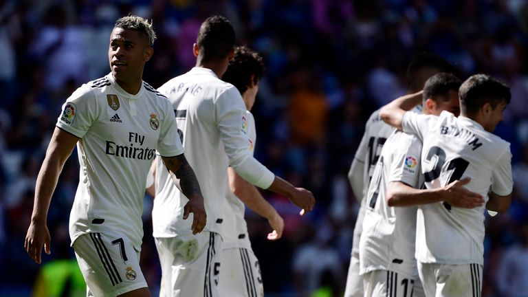 Mariano scored twice in Real's win
