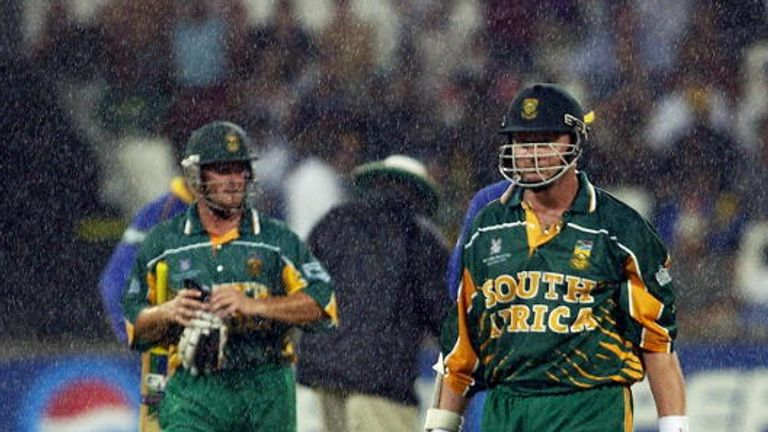 It never rains... Boucher and Klusener trudge off in 2003