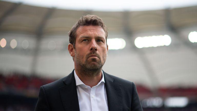 Markus Weinzierl left Stuttgart in April