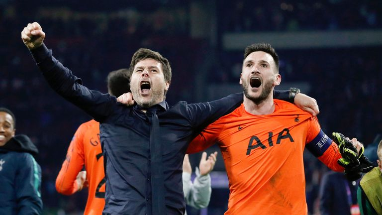 Spurs will be in Champions League final just five days before England play the Netherlands