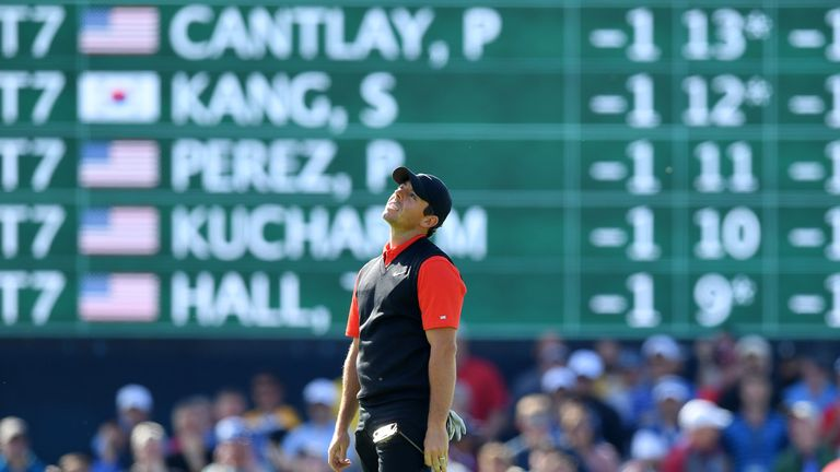 McIlroy ended the first round nine shots behind leader Brooks Koepka