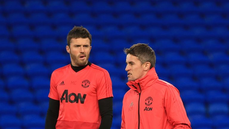 Michael Carrick and Kieran McKenna's coaching acumen has been praised by Manchester United boss Ole Gunnar Solskjaer