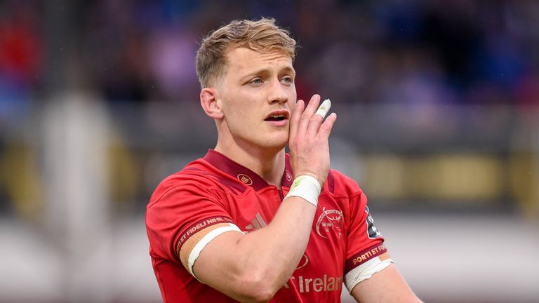 Munster fullback Mike Haley was included in Joe Schmidt's 44-man squad