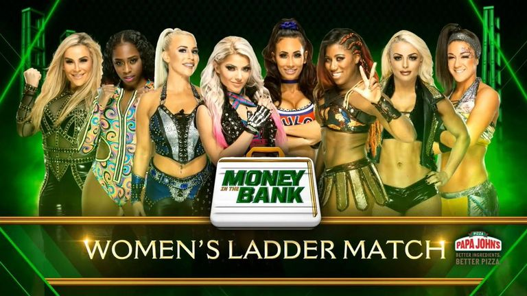 The 2017 Money In The Bank winner Carmella will get the chance to repeat the feat later this month