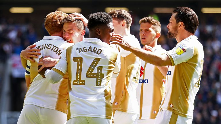 MK Dons are back in League One