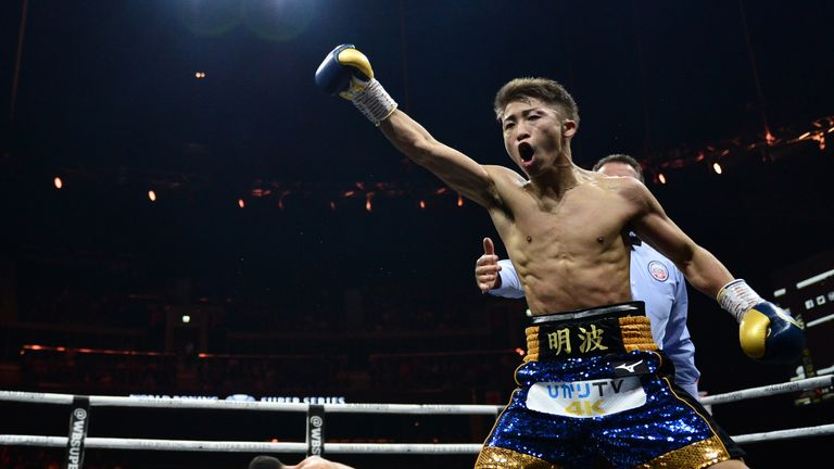 Naoya Inoue has won all 18 of his professional fights
