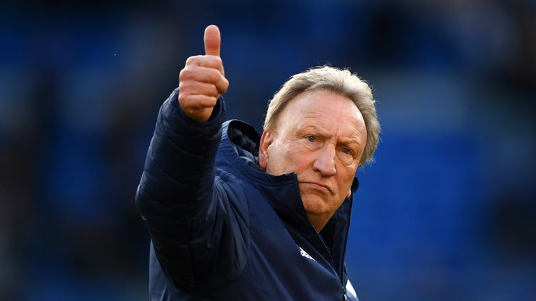 Warnock saw his relegated side sign off the 2018-19 campaign with a 2-0 win against United