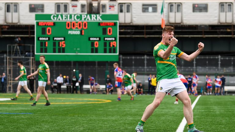 Leitrim staged a late comeback to secure victory last year