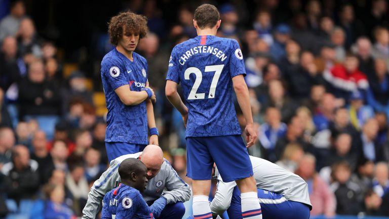 N'Golo Kante picked up the injury during Chelsea's 3-0 win over Watford in May