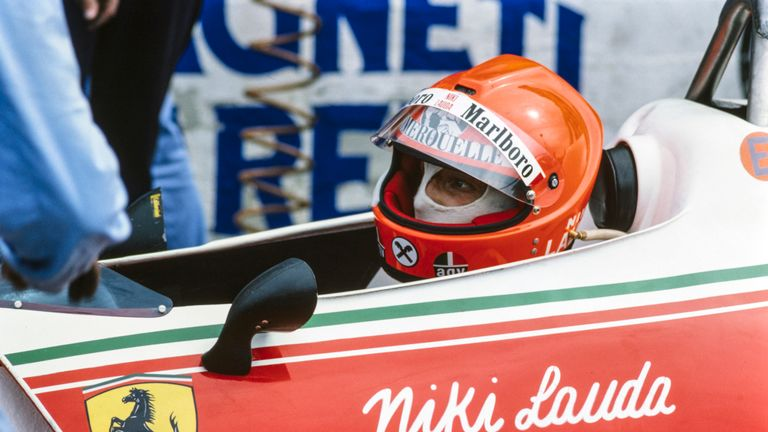 Lauda miraculously returned for the Italian GP in September 1976, just 40 days after his serious crash at the German GP