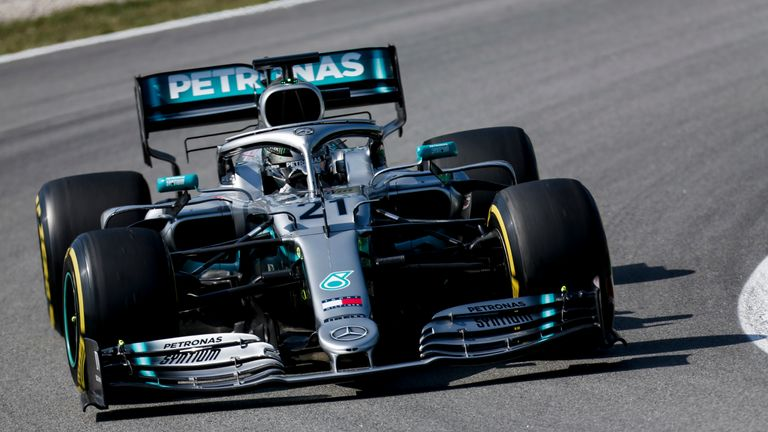 Nikita Mazepin ensured Mercedes finished F1 Testing on top