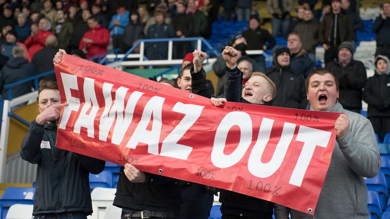 Forest fans voiced their pleasure at Al-Hasawi's handling of the club