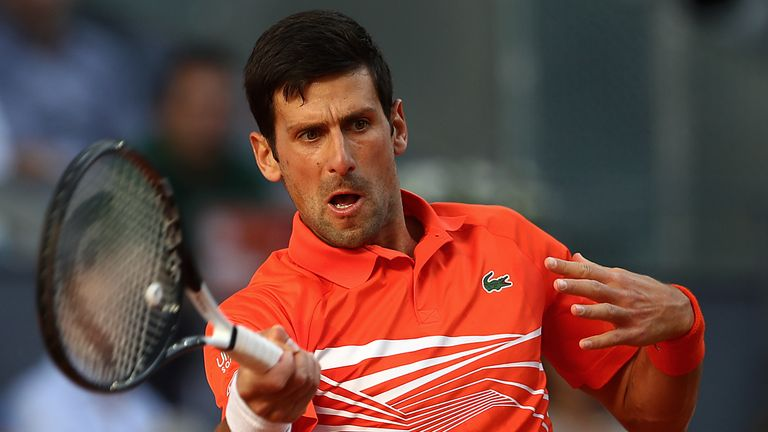 Djokovic did not lose a set on his way to the title in the Spanish capital