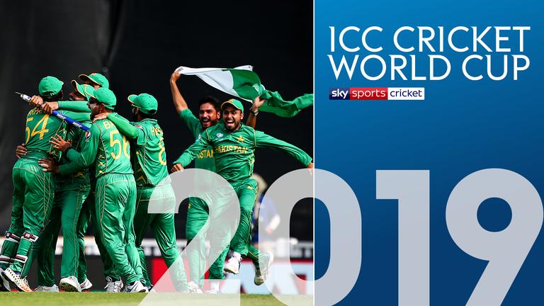 Pakistan, Cricket World Cup 2019