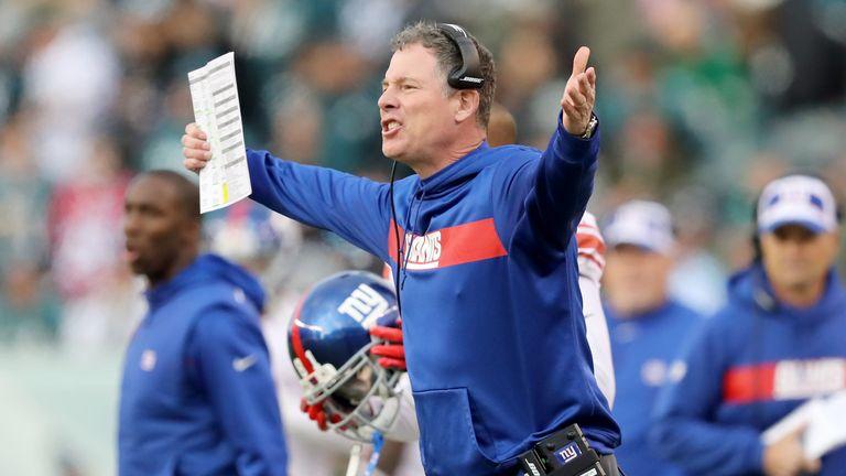 Alex Jenkins will hope to impress New York Giants' head coach Pat Shurmur