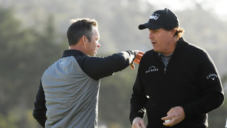 Paul Casey believes Phil Mickelson is the ideal man to captain USA at the 2024 Ryder Cup