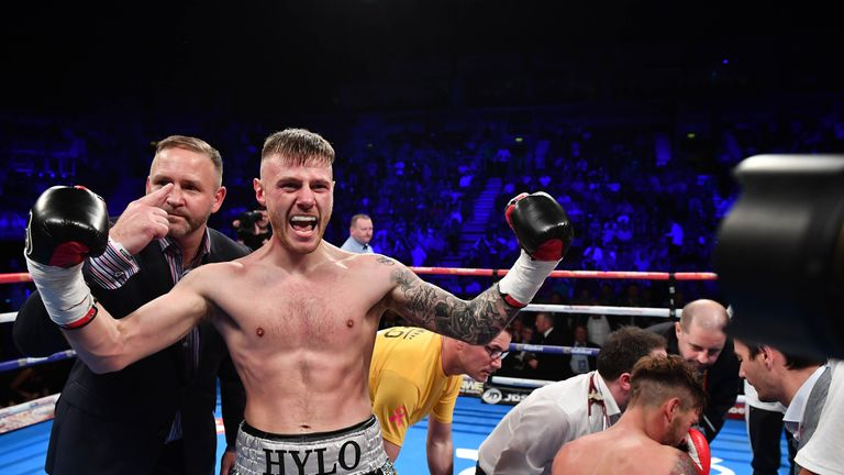 Paul Hyland previously held the IBF's version of the European lightweight title