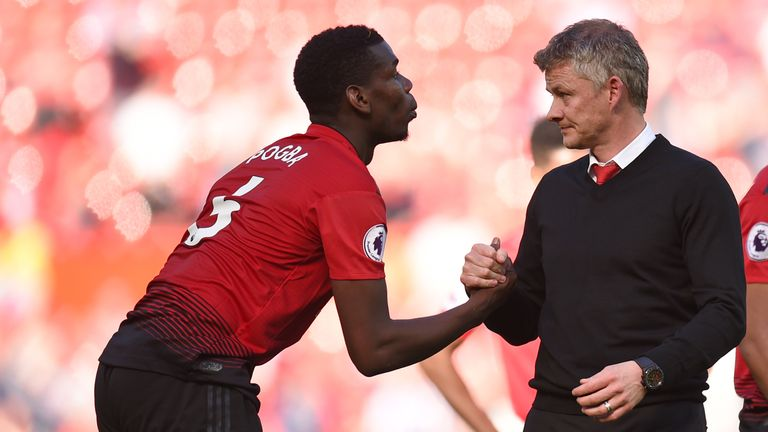 Pogba improved early on under Ole Gunnar Solskjaer, but his late-season form dropped again