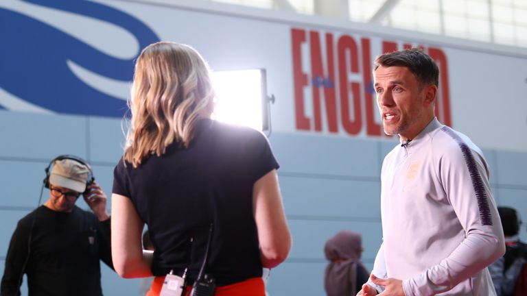 Phil Neville tells Sky Sports News his England squad are capable of reaching the World Cup final