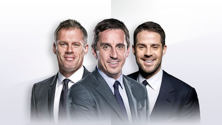 Sky Sports punditry team for the UEFA Nations League finals