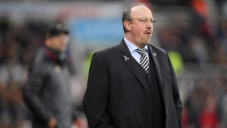 Rafael Benitez will leave the job when his contract expires on Sunday