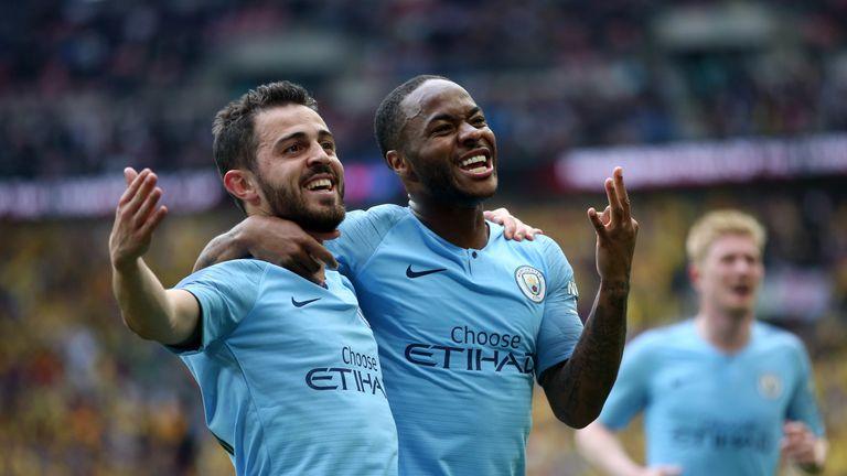 Raheem Sterling scored a hat-trick as Man City demolished Watford 6-0