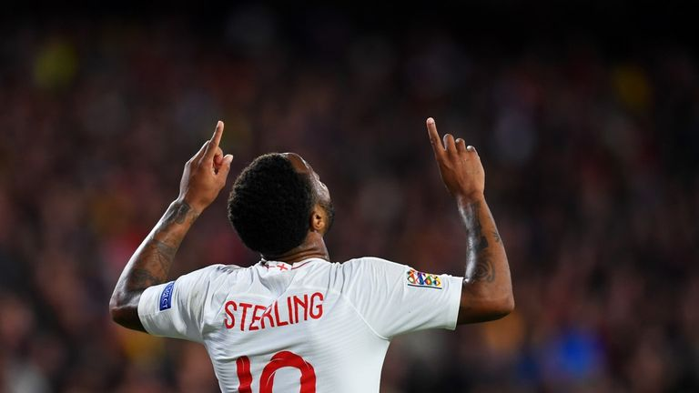 Raheem Sterling and his England team-mates will compete for Nations League glory on Sky this summer