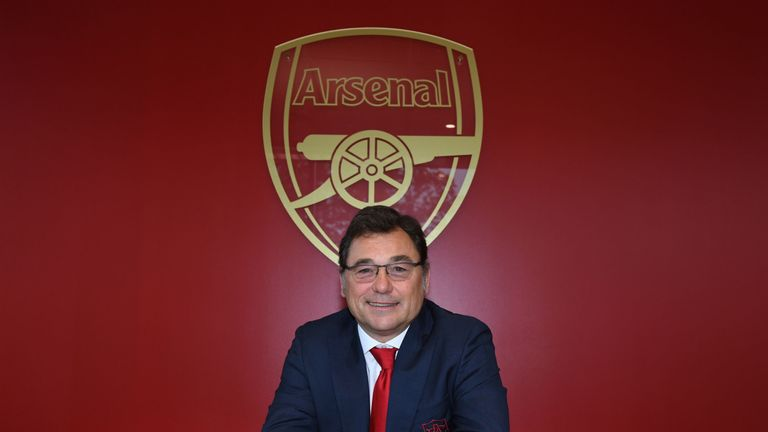 Raul Sanllehi believes Arsenal are capable of attracting the calibre of players they are looking for