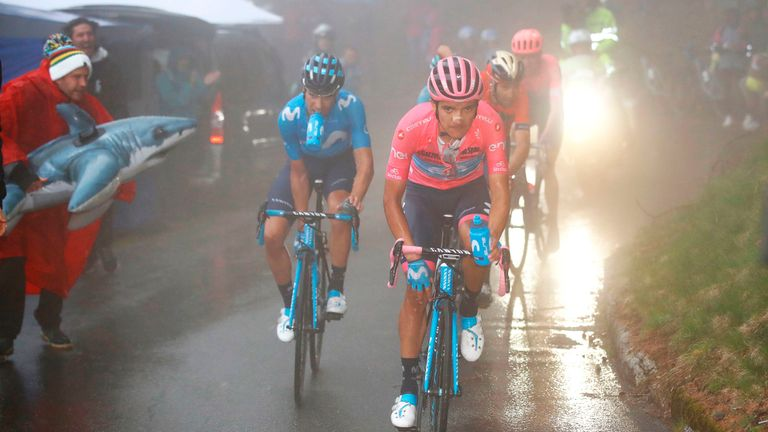 Carapaz is victorious in the 102nd edition of the Giro d'Italia