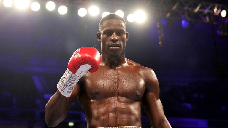 Richard Riakporhe battles Chris Billam-Smith on the Dillian Whyte-Oscar Rivas bill, live on Sky Sports Box Office