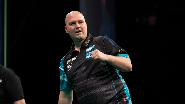 Rob Cross is in contention for the title