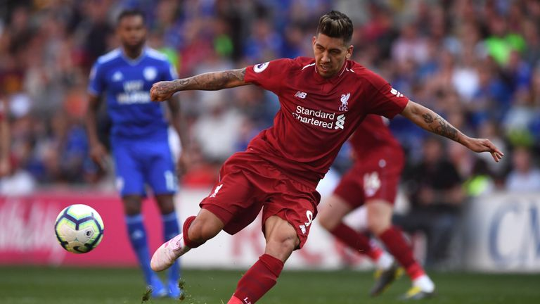 Roberto Firmino will also miss the second leg