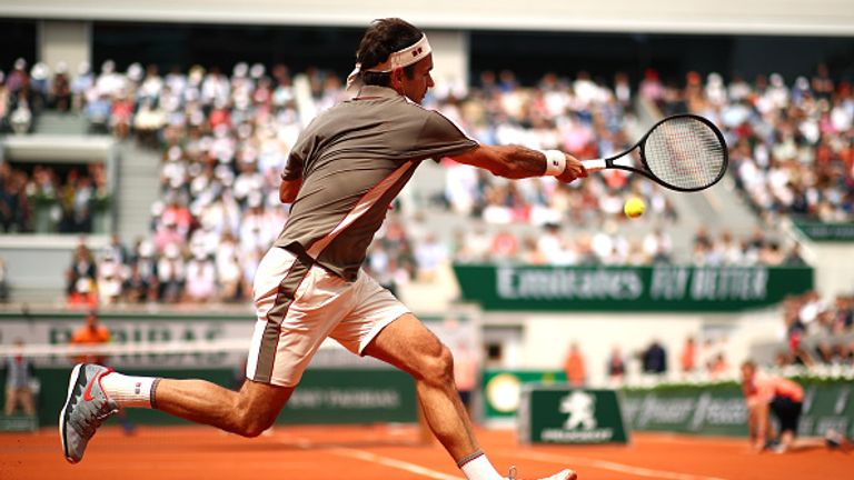 Federer's only title at Roland Garros came 10 years ago and he has declared himself an outsider this year