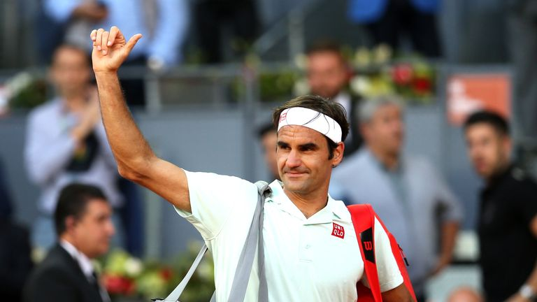 Federer is making his first Roland Garros appearance since 2015