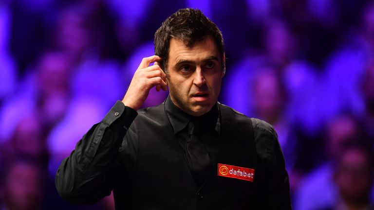 Ronnie O'Sullivan says World Championship is not worth the 'blood, sweat and tears'