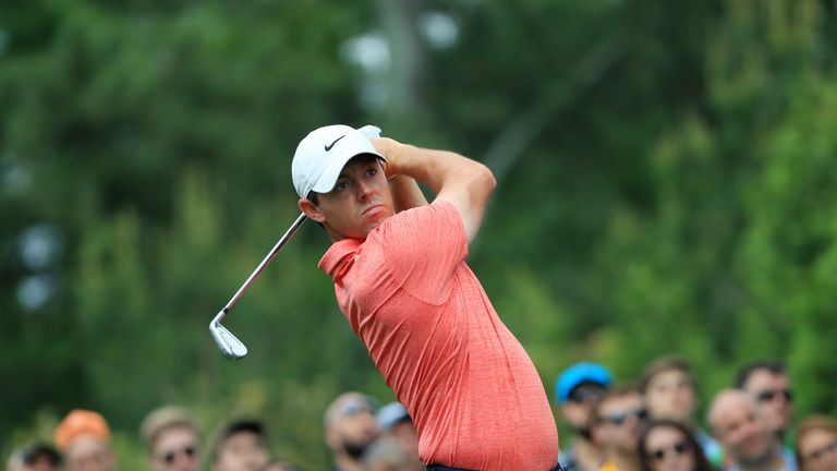 McIlroy was chasing a third career victory in the event