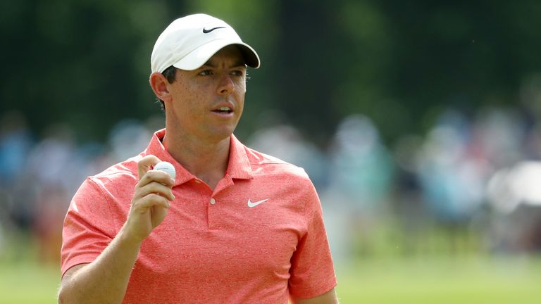 McIlroy posted a two-over 73 during the final round at Quail Hollow
